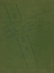 1954 Edition, Hayward High School - Ba Ke La Yearbook (Hayward, WI)