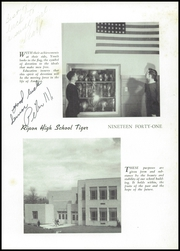Page 5, 1941 Edition, Ripon High School - Tiger Yearbook (Ripon, WI) online yearbook collection
