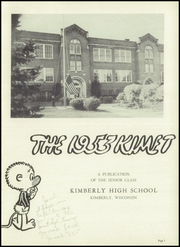 Page 5, 1953 Edition, Kimberly High School - Kimet Yearbook (Kimberly, WI) online yearbook collection