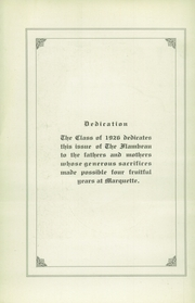 Page 6, 1926 Edition, Marquette University High School - Flambeau Yearbook (Milwaukee, WI) online yearbook collection