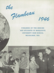 Page 9, 1946 Edition, Marquette University High School - Flambeau Yearbook (Milwaukee, WI) online yearbook collection