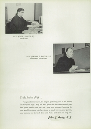 Page 10, 1948 Edition, Marquette University High School - Flambeau Yearbook (Milwaukee, WI) online yearbook collection