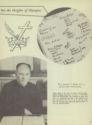 Page 17, 1951 Edition, Marquette University High School - Flambeau Yearbook (Milwaukee, WI) online yearbook collection