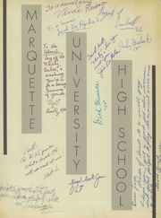 Page 3, 1951 Edition, Marquette University High School - Flambeau Yearbook (Milwaukee, WI) online yearbook collection