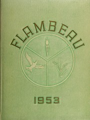 Page 1, 1953 Edition, Marquette University High School - Flambeau Yearbook (Milwaukee, WI) online yearbook collection
