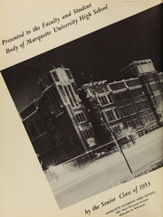 Page 6, 1953 Edition, Marquette University High School - Flambeau Yearbook (Milwaukee, WI) online yearbook collection