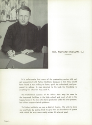 Page 10, 1954 Edition, Marquette University High School - Flambeau Yearbook (Milwaukee, WI) online yearbook collection