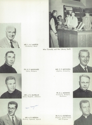 Page 15, 1954 Edition, Marquette University High School - Flambeau Yearbook (Milwaukee, WI) online yearbook collection