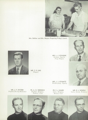 Page 17, 1954 Edition, Marquette University High School - Flambeau Yearbook (Milwaukee, WI) online yearbook collection