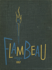 Page 1, 1957 Edition, Marquette University High School - Flambeau Yearbook (Milwaukee, WI) online yearbook collection