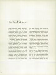 Page 10, 1957 Edition, Marquette University High School - Flambeau Yearbook (Milwaukee, WI) online yearbook collection