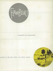 Page 6, 1957 Edition, Marquette University High School - Flambeau Yearbook (Milwaukee, WI) online yearbook collection