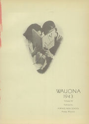 Page 5, 1943 Edition, Portage High School - Wauona Yearbook (Portage, WI) online yearbook collection