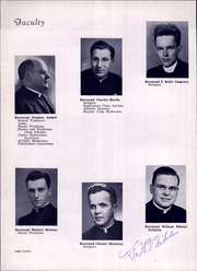 Page 16, 1949 Edition, Aquinas High School - Trumpet Yearbook (La Crosse, WI) online yearbook collection