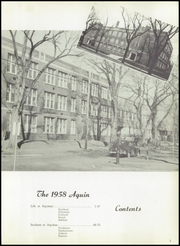 Page 7, 1958 Edition, Aquinas High School - Trumpet Yearbook (La Crosse, WI) online yearbook collection