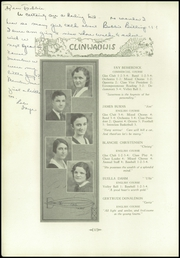 Page 12, 1931 Edition, Clintonville High School - Clinwauwis Yearbook (Clintonville, WI) online yearbook collection