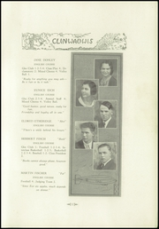 Page 13, 1931 Edition, Clintonville High School - Clinwauwis Yearbook (Clintonville, WI) online yearbook collection