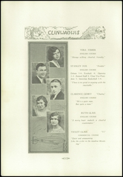 Page 14, 1931 Edition, Clintonville High School - Clinwauwis Yearbook (Clintonville, WI) online yearbook collection