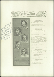 Page 16, 1931 Edition, Clintonville High School - Clinwauwis Yearbook (Clintonville, WI) online yearbook collection