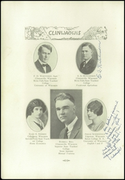 Page 8, 1931 Edition, Clintonville High School - Clinwauwis Yearbook (Clintonville, WI) online yearbook collection