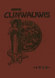 1933 Edition, Clintonville High School - Clinwauwis Yearbook (Clintonville, WI)