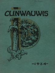 1934 Edition, Clintonville High School - Clinwauwis Yearbook (Clintonville, WI)