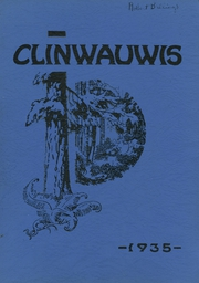 1935 Edition, Clintonville High School - Clinwauwis Yearbook (Clintonville, WI)