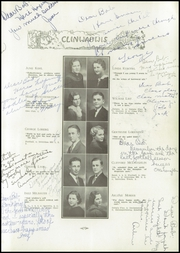 Page 13, 1935 Edition, Clintonville High School - Clinwauwis Yearbook (Clintonville, WI) online yearbook collection