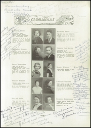 Page 15, 1935 Edition, Clintonville High School - Clinwauwis Yearbook (Clintonville, WI) online yearbook collection