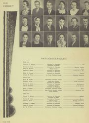 Page 9, 1936 Edition, Edgerton High School - Crimson Yearbook (Edgerton, WI) online yearbook collection