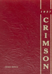 Page 1, 1937 Edition, Edgerton High School - Crimson Yearbook (Edgerton, WI) online yearbook collection