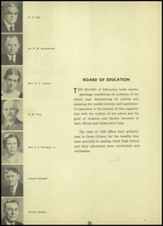 Page 10, 1938 Edition, Edgerton High School - Crimson Yearbook (Edgerton, WI) online yearbook collection