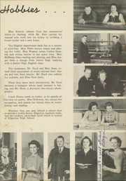 Page 7, 1940 Edition, Edgerton High School - Crimson Yearbook (Edgerton, WI) online yearbook collection