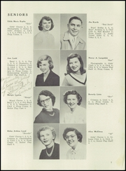 Page 13, 1952 Edition, Edgerton High School - Crimson Yearbook (Edgerton, WI) online yearbook collection