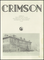 Page 7, 1952 Edition, Edgerton High School - Crimson Yearbook (Edgerton, WI) online yearbook collection