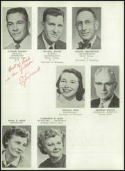 Page 12, 1956 Edition, Edgerton High School - Crimson Yearbook (Edgerton, WI) online yearbook collection