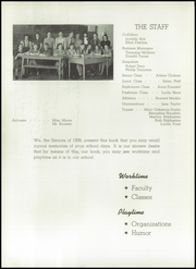 Page 10, 1939 Edition, Mauston High School - Hammer Yearbook (Mauston, WI) online yearbook collection