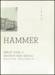 Page 9, 1939 Edition, Mauston High School - Hammer Yearbook (Mauston, WI) online yearbook collection