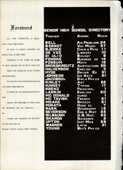 Page 6, 1964 Edition, Black River Falls High School - Breeze Yearbook (Black River Falls, WI) online yearbook collection