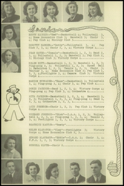 Page 14, 1943 Edition, Sturgeon Bay High School - Flashes Yearbook (Sturgeon Bay, WI) online yearbook collection