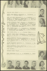 Page 17, 1943 Edition, Sturgeon Bay High School - Flashes Yearbook (Sturgeon Bay, WI) online yearbook collection