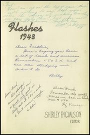Page 3, 1943 Edition, Sturgeon Bay High School - Flashes Yearbook (Sturgeon Bay, WI) online yearbook collection
