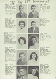 Page 13, 1949 Edition, Seymour High School - Rippler Yearbook (Seymour, WI) online yearbook collection