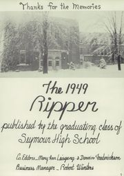 Page 5, 1949 Edition, Seymour High School - Rippler Yearbook (Seymour, WI) online yearbook collection