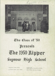 Page 3, 1950 Edition, Seymour High School - Rippler Yearbook (Seymour, WI) online yearbook collection
