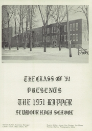 Page 9, 1951 Edition, Seymour High School - Rippler Yearbook (Seymour, WI) online yearbook collection