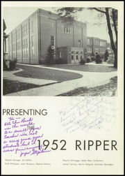 Page 5, 1952 Edition, Seymour High School - Rippler Yearbook (Seymour, WI) online yearbook collection