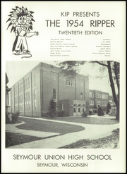 Page 5, 1954 Edition, Seymour High School - Rippler Yearbook (Seymour, WI) online yearbook collection