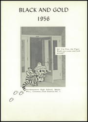 Page 5, 1956 Edition, Northwestern High School - Black and Gold Yearbook (Maple, WI) online yearbook collection