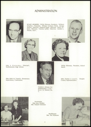 Page 8, 1956 Edition, Northwestern High School - Black and Gold Yearbook (Maple, WI) online yearbook collection